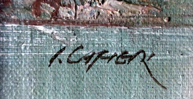 Irene Cafieri, signature.