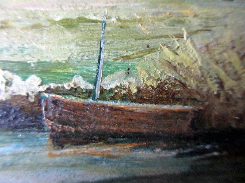 Boat detail.