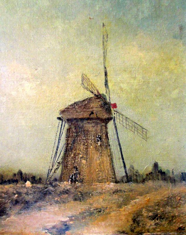 Norfolk Windpump. Detail.