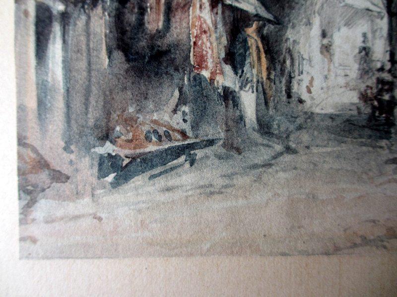 The Black Gate, WJM, c1835. Detail.