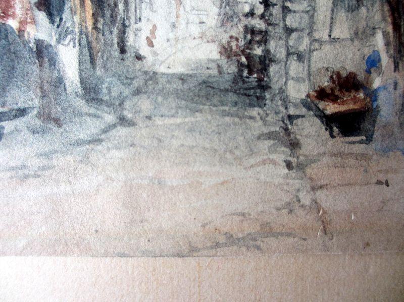 The Black Gate, WJM. Detail.