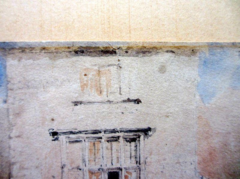 Detail, surface abrasion.