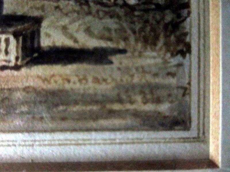 Sarah 1834, signature.