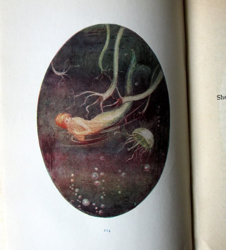 Hans Andersen's Fairy Stories 4th Edn, c1930. Sample plate.