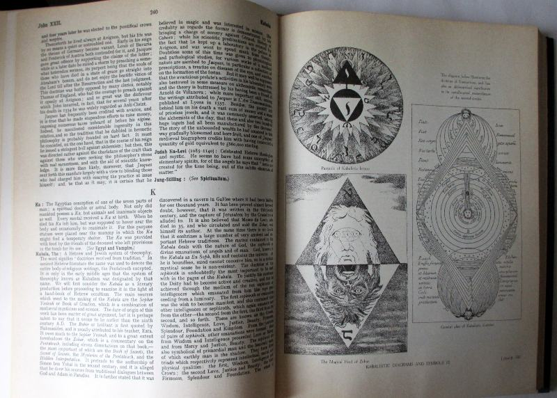 The Encyclopedia of the Occult by Lewis Spence. Bracken Books 1988. Sample pages.