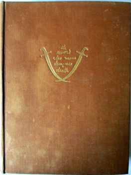 Seven Pillars of Wisdom, A Triumph, by T.E. Lawrence. 1st Edition, 4th Impression, 1935.  SOLD  03.08.2015.