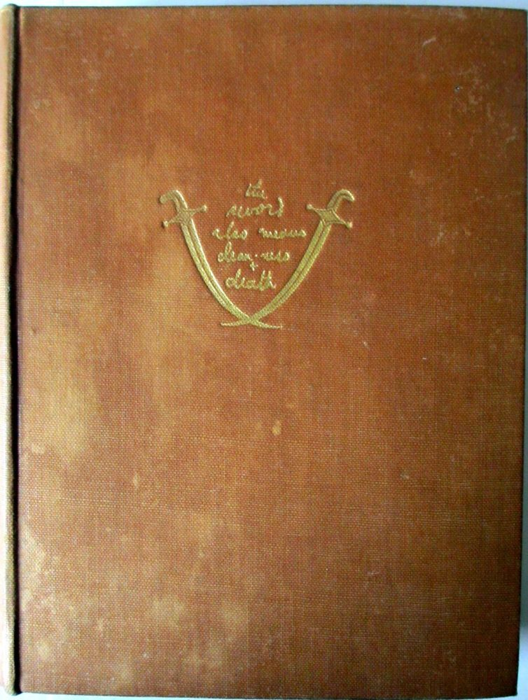 Seven Pillars of Wisdom, A Triumph, by T.E. Lawrence. 1st Edition, 4th Impr