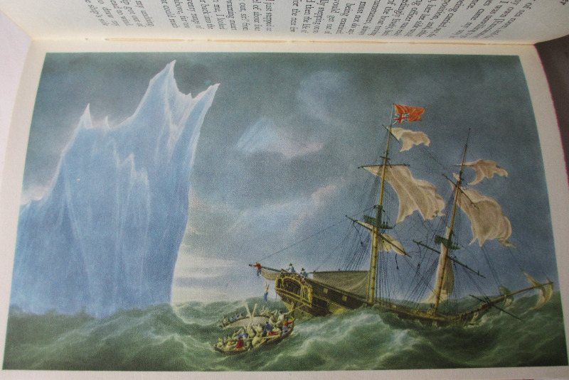 The Book of the Sea, edited by Aubrey de Selincourt, 1961. Colour plate.