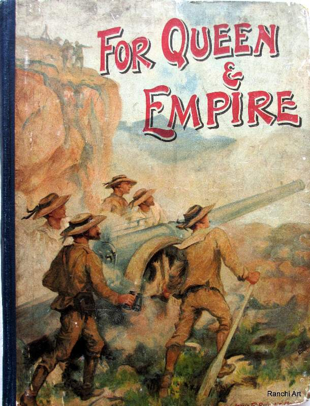 For Queen and Empire, Books for Children, c1902.