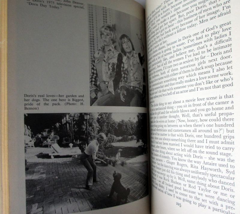 Doris Day, Her Own Story by A.E. Hotchner, 1976. 1st Edition. Sample plate.