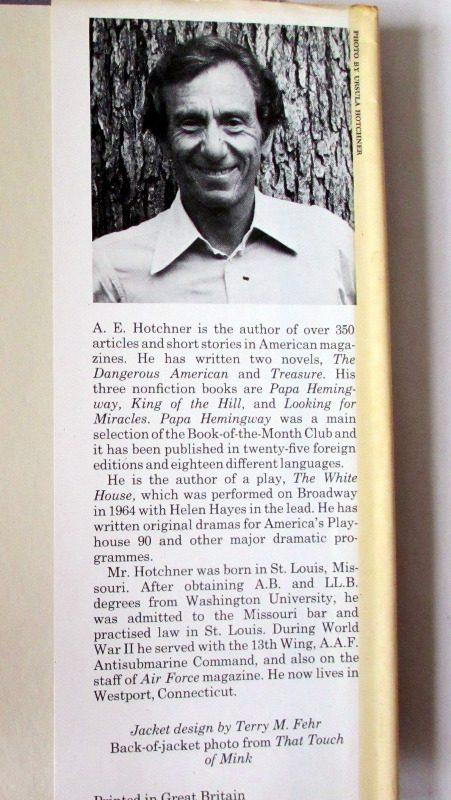 Doris Day, Her Own Story by A.E. Hotchner, 1976. 1st Edition. DJ back fold.