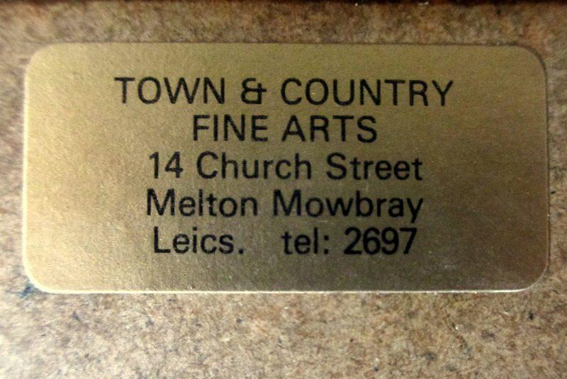 Aureola, acrylic on paper, signed 9hs 77, 1977. Frame, verso.