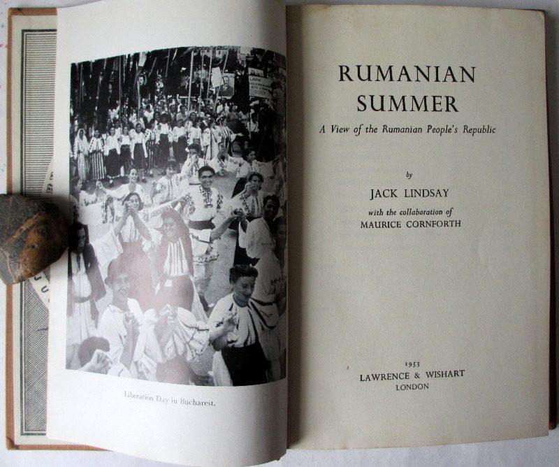 Rumanian Summer by Jack Lindsay 1953.