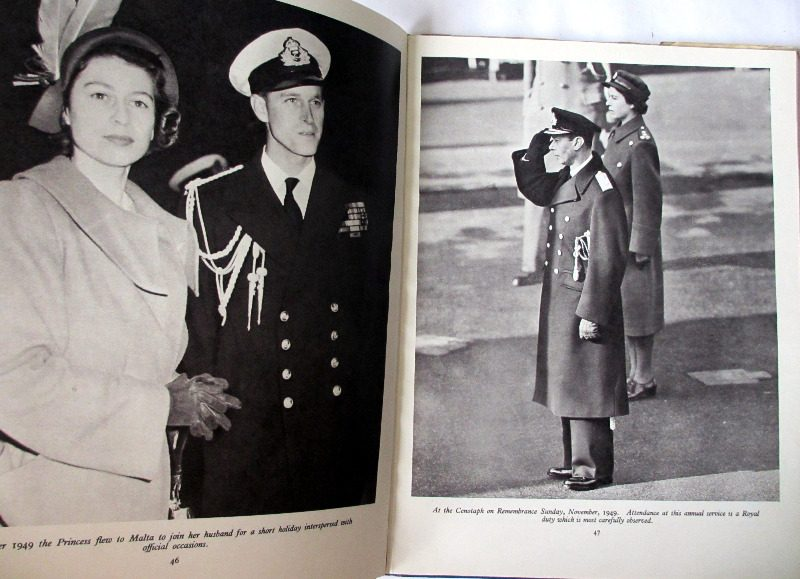 Queen Elizabeth Coronation Book 1953.