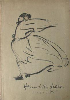 Heinrich Zille. Studien. Eingeleitet von Prof. Dr. Adolf Behne. 1st Edition. Kunst. 1949.