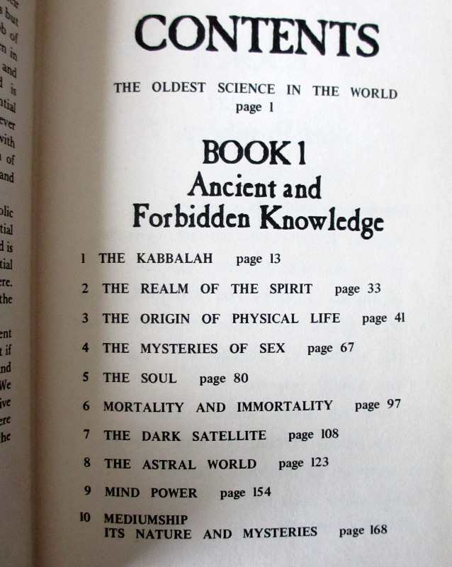 The Encyclopedia of Ancient and Forbidden Knowledge by Zolar 1970. Detail.