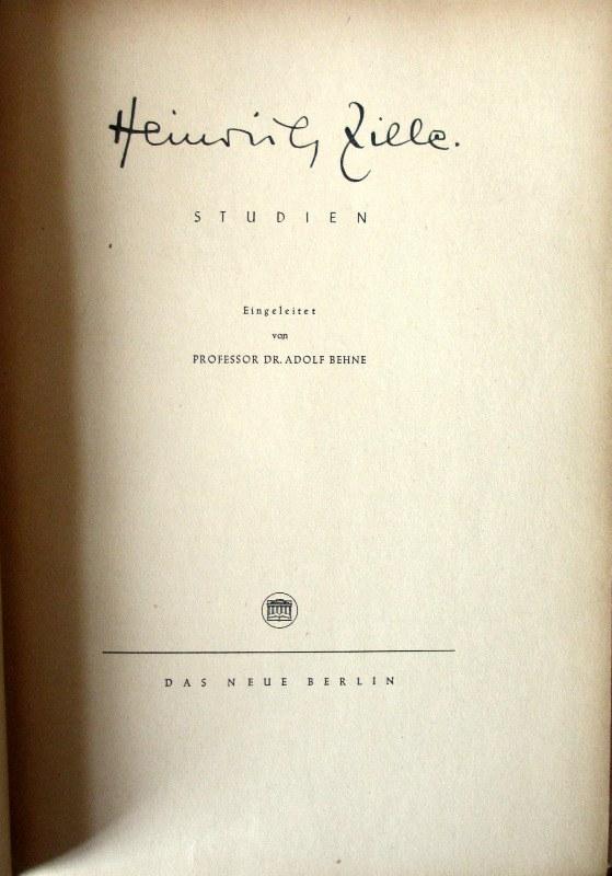 Heinrich Zille. Studien, 1949.