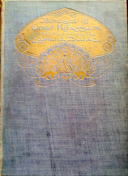 Rubaiyat of Omar Khayyam, Edward Fitzgerald, illustrated by Edmund Dulac. 1910.  SOLD 16.12.2015.