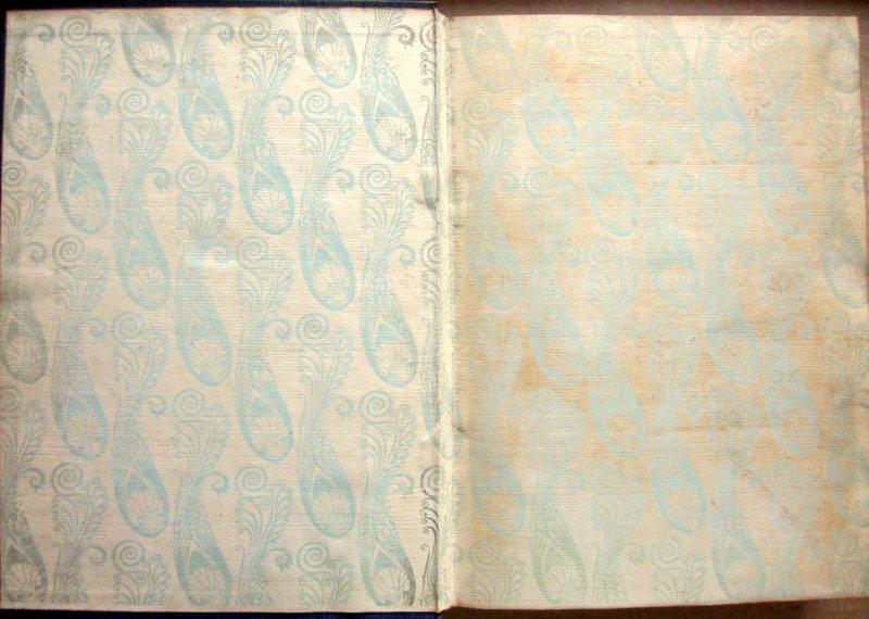 Rubaiyat of Omar Khayyam, Fitzgerald with Edmund Dulac, 1910. Front p/d and e/p.
