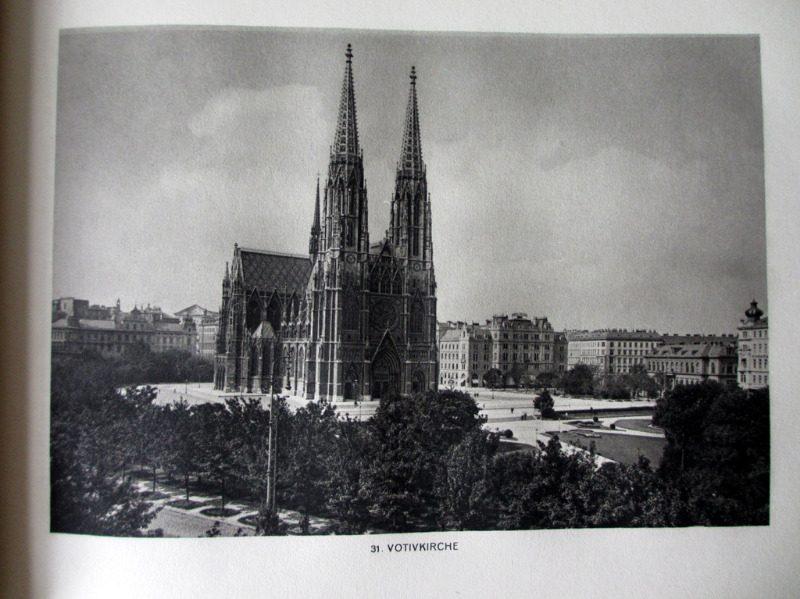 Das Schoene Wien, Bruno Reiffenstein, 1928. Sample plate.