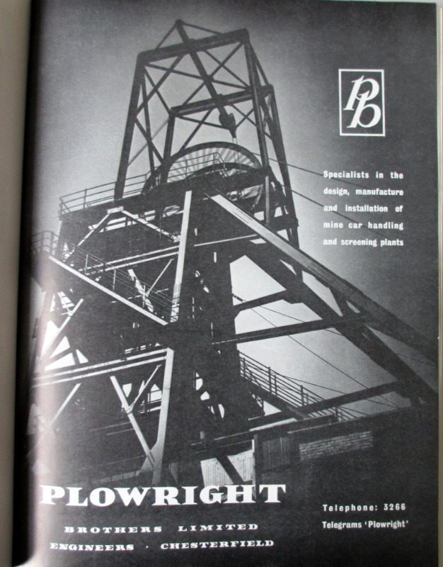 National Coal Board, 1957. 1st Edition. Advertising.