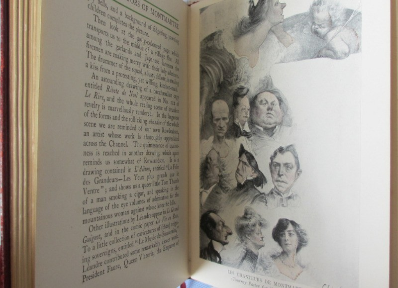 The Illustrators of Montmartre by Frank L. Emanuel, 1904. 1st Edition. Details.