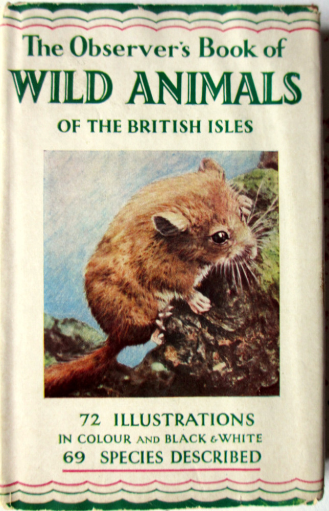Observer's Book of Wild Animals British Isles, Nr. 5, W.J. Stokoe, 1958.
