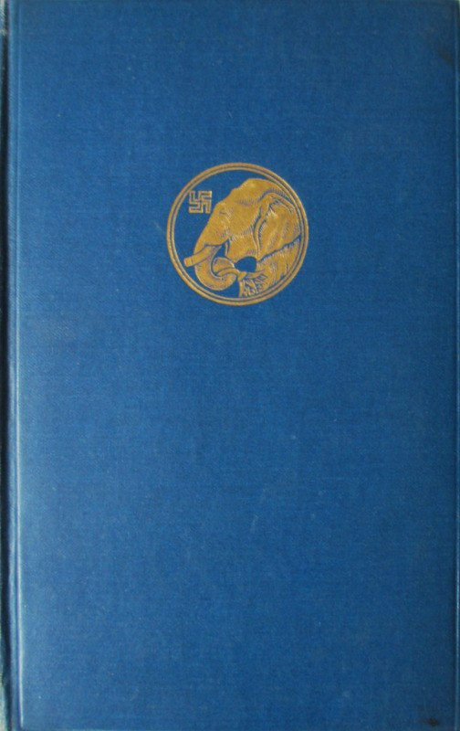 Kim by Rudyard Kipling, illustrated by J. Lockwood Kipling, 1927.