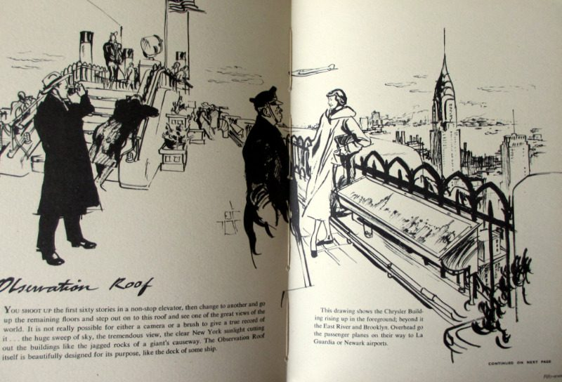 An Englishman in New York, written and illustrated by Francis Marshall. 1949. 1st Edition. Details.