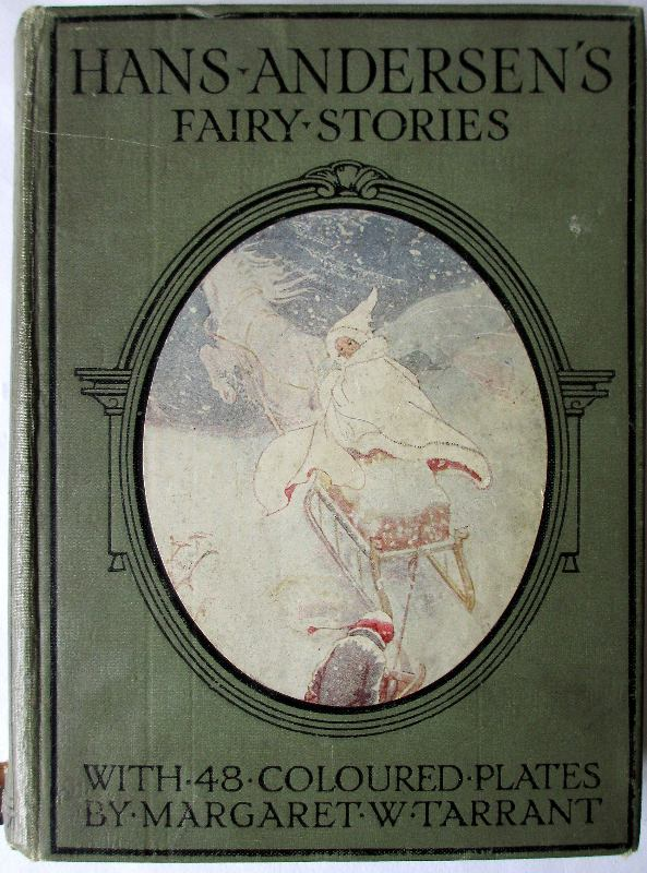 Hans Andersen's Fairy Stories with 48 Colour Plates by Margaret W. Tarrant, 4th Edition. c1930.