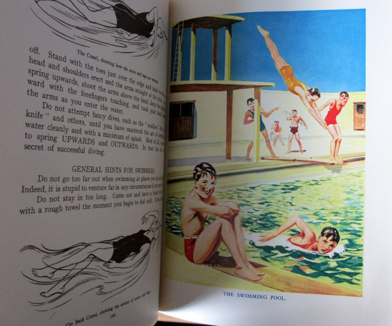 The Wonder Book of Things to Do Indoors & Out of Doors, Harry Golding, 1943. Details.