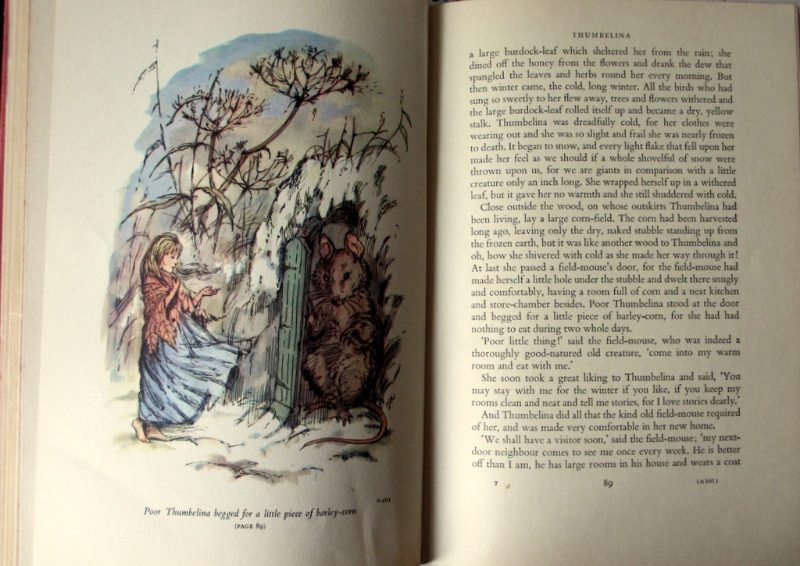 Hans Andersen's Fairy Tales, Retold by E. Jean Roberton. Illustrated by Shirley Hughes, 1961. 1st Edition. Details.