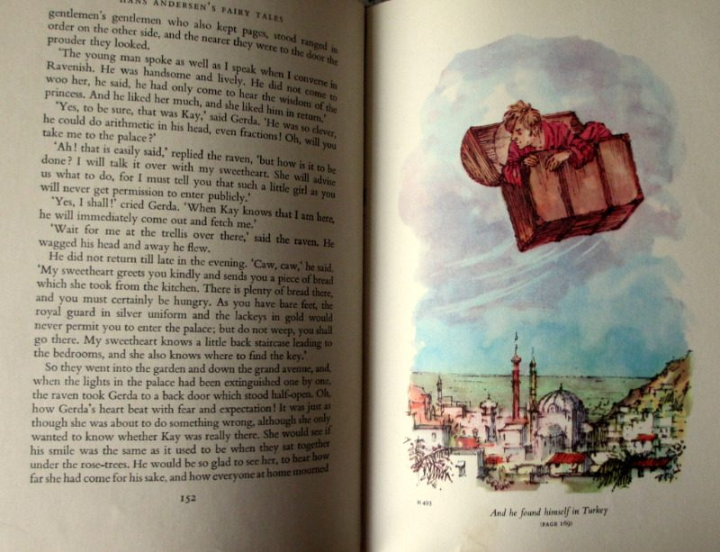 Hans Andersen's Fairy Tales, Retold by E. Jean Roberton. Illustrated by Shirley Hughes, 1961. 1st Edition.