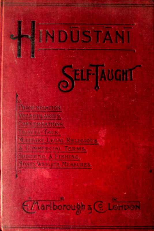Hindustani Self-Taught, C.A. Thimm, 1902.