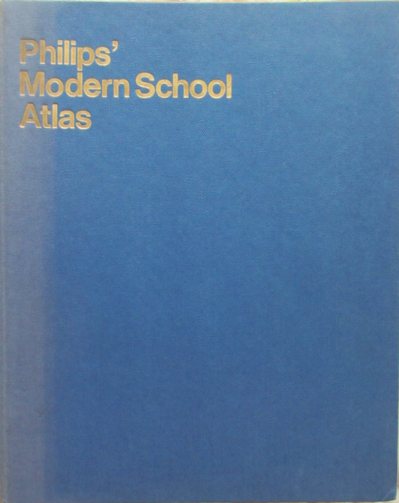 Philips' Modern School Atlas, Edited by Harold Fullard, 67th Edn., 1969.