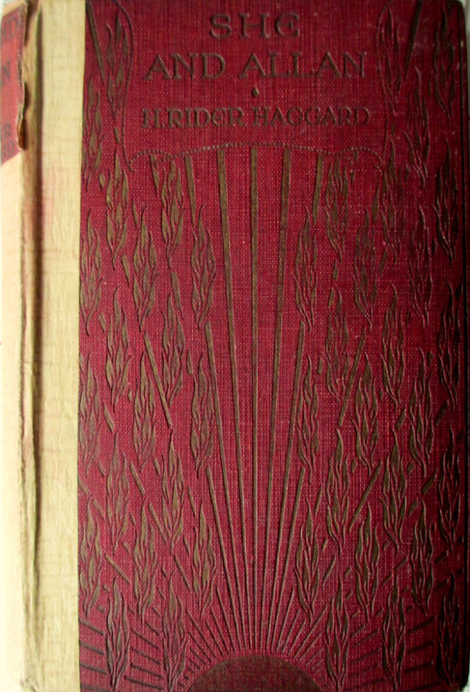 She and Allan by H. Rider Haggard. Hutchinson & Co., 1927. 5th Edn.