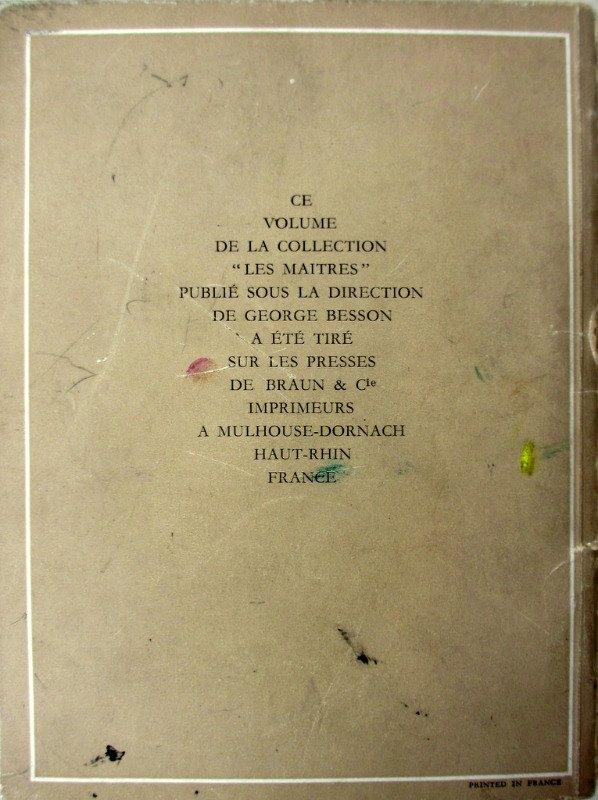 Les Maitres, Marcel Gromaire, George Besson, 1955. Detail.