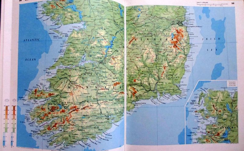 Philips' Modern School Atlas, Ed. Harold Fullard, 67th Edn., 1969. Details.