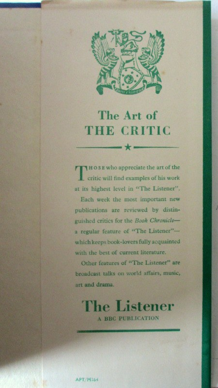 The Best One-Act Plays of 1946-47 selected by J.W. Marriott, 1948. 1st Edition. Details.