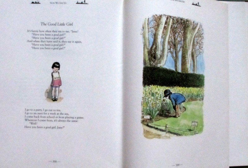 Winnie The Pooh, The Complete Collection of Stories and Poems, A.A. Milne with illustrations by E.H. Shepard. 1994. Details.