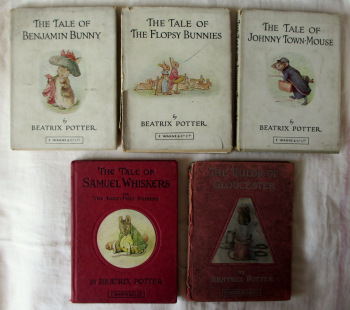 Beatrix Potter, Collection of 5 Volumes, 1949,1962 & c1950.