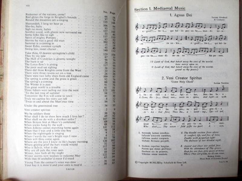 Songs of the Ages, Words and Airs, by R. Dunstan and C.E. Bygott, Revised in 1962 by F. Westcott. 1962. Details.
