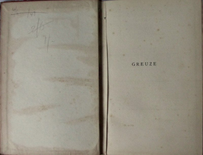 Bell's Miniature Series of Painters, Greuze, Harold Armitage, 1902. 1st Edn. Details.