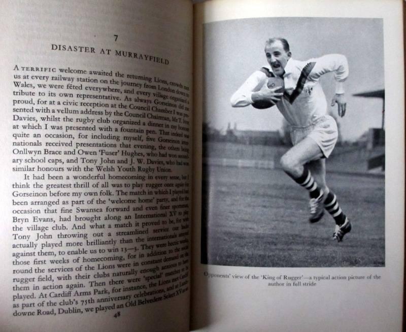 King of Rugger Lewis Jones 1958 1st Edition. Details.