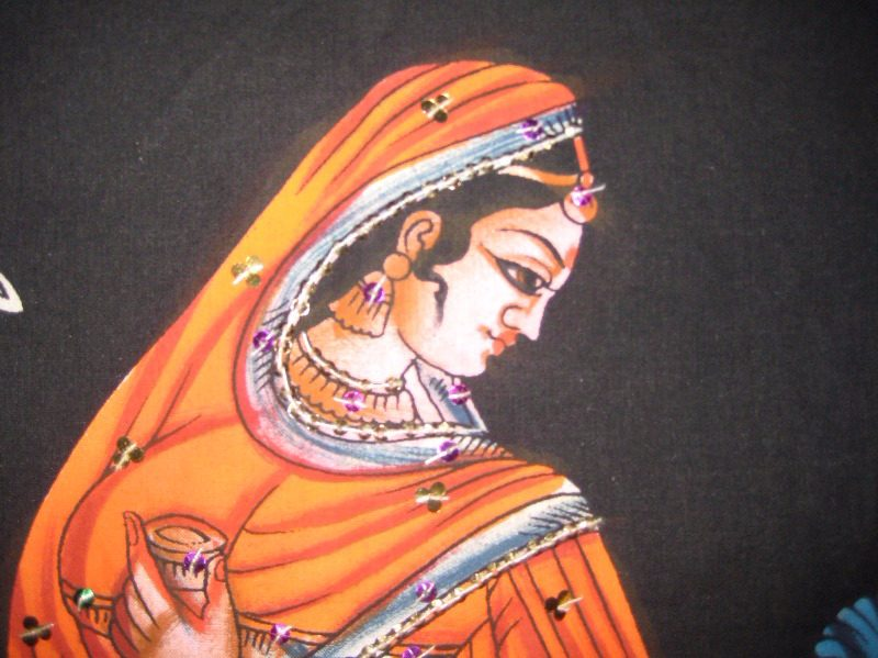 Nautch girl detail