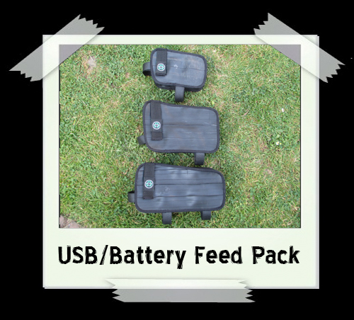 USB/Battery Feed Pack (various sizes) from