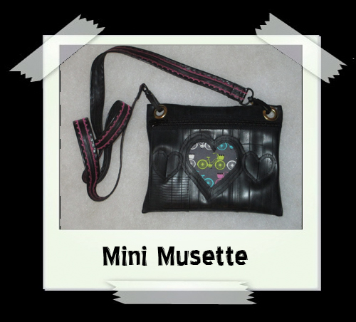 Mini Musette - Yellow Bike