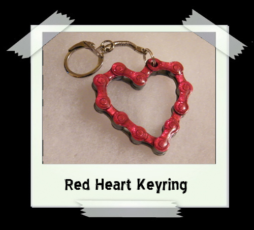 Key Ring - Red Heart