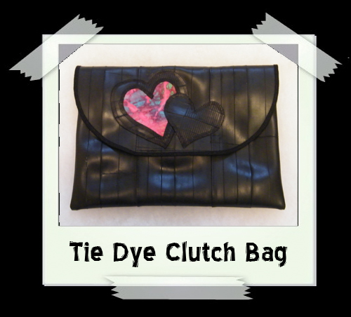 Tie Dye Clutch Bag