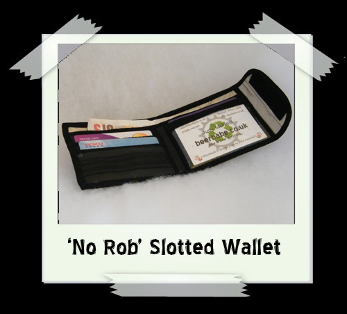 'No Rob' 4-slot Wallet